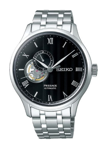 SEIKO GENTS PRESAGE AUTOMATIC STAINLESS STEEL BRACELET SSA377J
