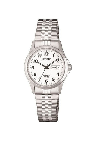 CITIZEN QUARTZ LADIES EXPANDING STRAP EQ2000-96A