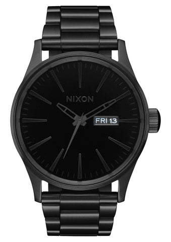 A356 1147-00 NIXON SENTRY SS ALL BLACK / BLACK