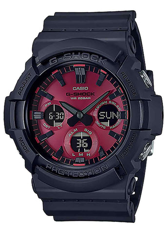 CASIO G SHOCK DUO ADRENALIN RED GAS100AR-1A