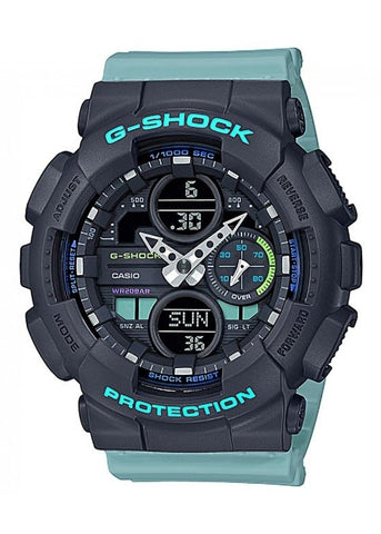 CASIO G SHOCK DUO MID SIZE GREEN/BLUE GMAS140-2A