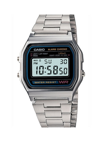 CASIO GENTS DIGITAL WATCH A158WA-1A