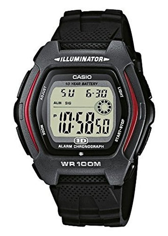 CASIO GENTS DIGITAL WATCH HDD600-1A