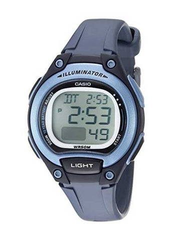 CASIO DIGITAL WATCH BLUE LW203-2A