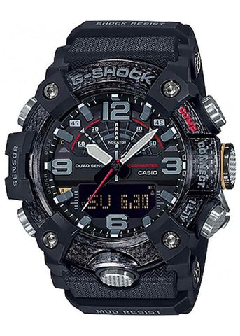 CASIO G SHOCK MUDMASTER CARBON CORE GUARD,QUAD SENSOR GGB100-1ADR