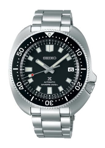 SEIKO PROSPEX SEA BLACK DIAL STAINLESS STEEL CAPTAIN WILLARD SPB151J1
