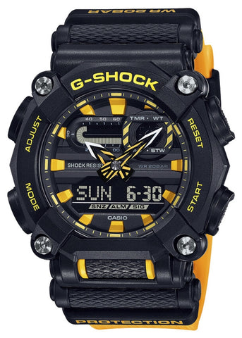 CASIO G SHOCK DUO NEW AGE DESIGN YELLOW & BLACK GA900A-1A9
