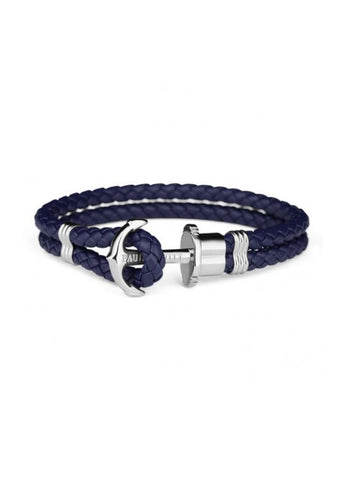PAUL HEWITT ANCHOR BRACELET PHREPS NAVY BLUE PH-PH-L-S-N-L