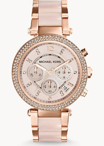 MICHAEL KORS WATCH PARKER ROSE GOLD MK5896