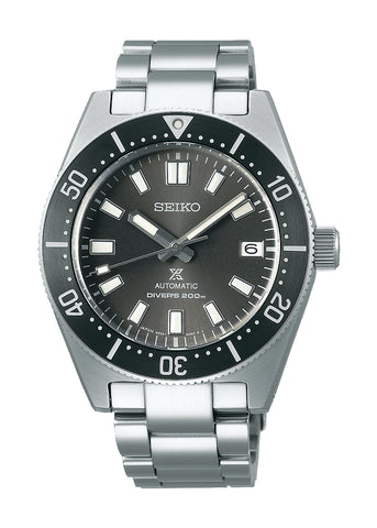 SEIKO PROSPEX SEA BLACK DIAL STAINLESS STEEL REISSUE SPB143J1