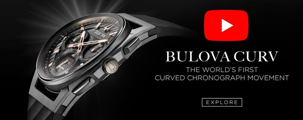 Check out the new Bulova Curv in store today