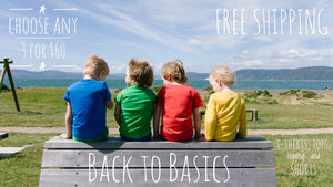 Back to Basics + Free Shipping