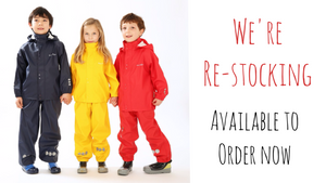 Kozi Kidz Rainwear Re-stocked