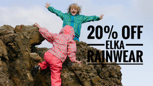 20% off Kids Elka Rainwear