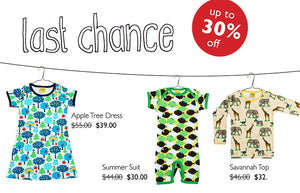 LAST CHANCE - Up to 30% Off