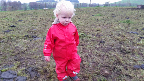 Kozi Kidz Red Rainwear