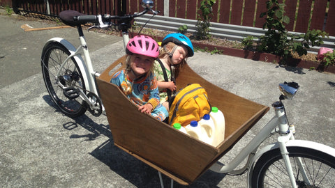 Kids in Metrofiets Cargo Bike