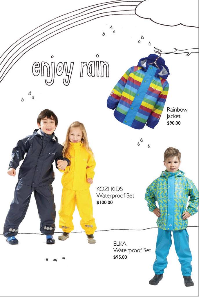 Enjoy the rain with Hoopla Kids