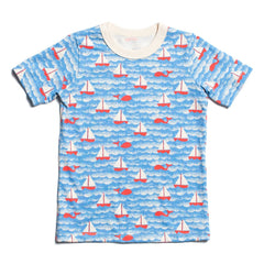 Sailboats short sleeved tee WWF