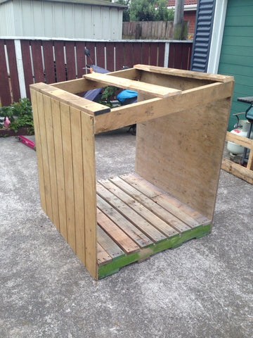 Pallet Shed with out roof
