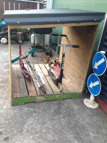 scooter shed