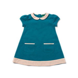 Little Green Radicals Beach Ball Blue Tunic Dress - Hoopla Kids