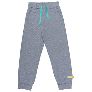 Loud + Proud Blue Micro Stripe Trackpants - Hoopla Kids