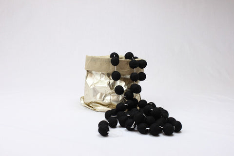 Ball Garland - Black