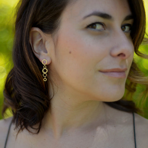 Short line classico earrings