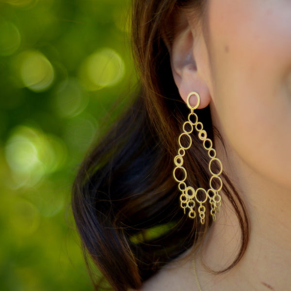 Small dangle earrings