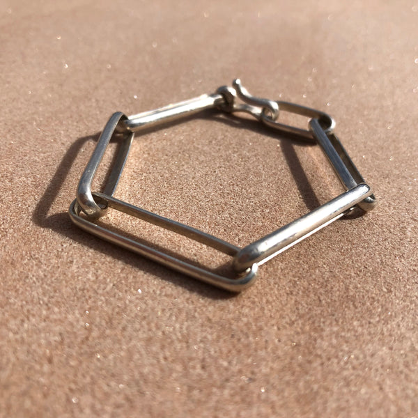 Heavy Metal large link bracelet