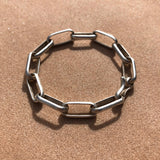 Heavy Metal small link bracelet
