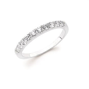 1/5 Ctw. Shared Prong Diamond Anniversary Band In 14K Gold