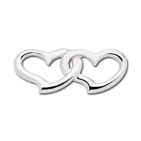 Cape Cod Convertible Charm - Double Open Hearts