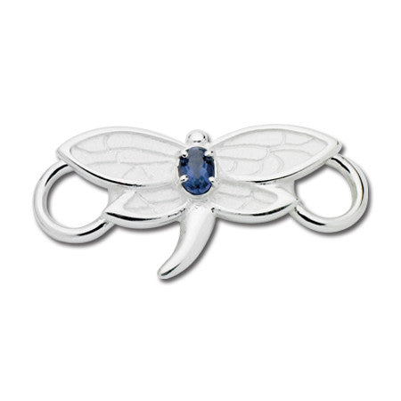 Cape Cod Convertible Charm - Dragonfly with Iolite