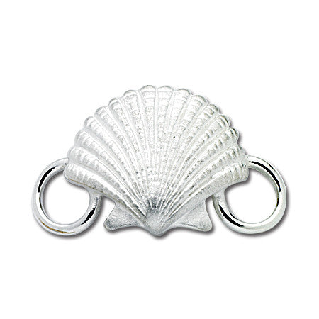 Cape Cod Convertible Charm - Scallop Shell