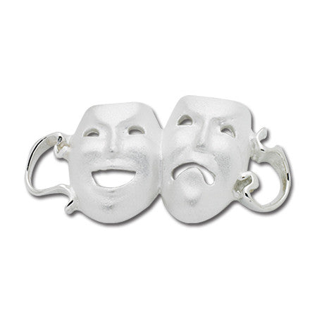 Cape Cod Convertible Charm - Comedy & Tragedy Masks