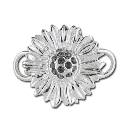 Cape Cod Convertible Charm - Sunflower with Crystals