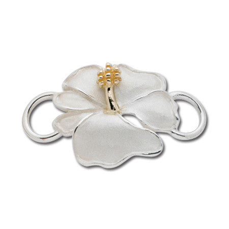Cape Cod Convertible Charm - Hibiscus with 14ky Accent
