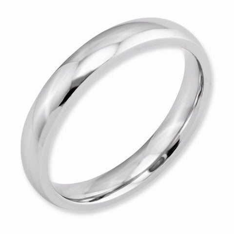 4.00mm Cobalt Polished Band