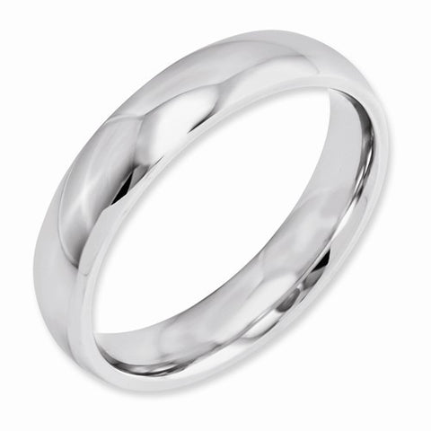 5.00mm Cobalt Polished Band