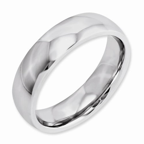 6.00mm Cobalt Polished Band