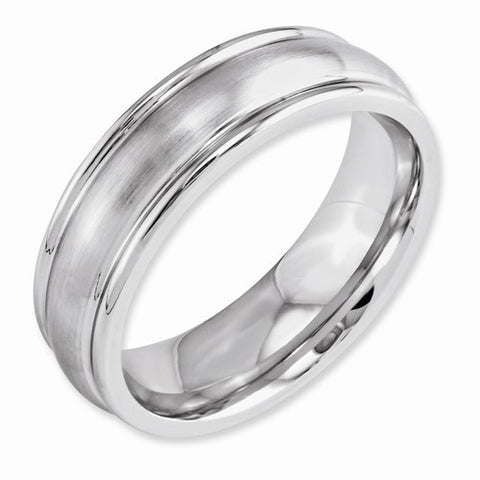 7.00mm Cobalt Satin Rounded Edge Band