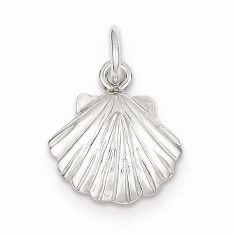 Sea Shell Pendant - Sterling Silver