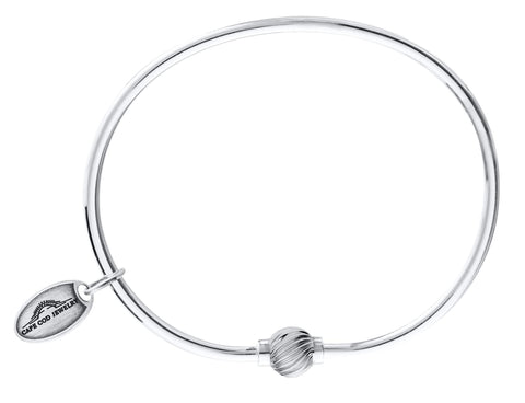 LeStage Cape Cod Sterling Silver Bracelet [Single Spiral Ball]