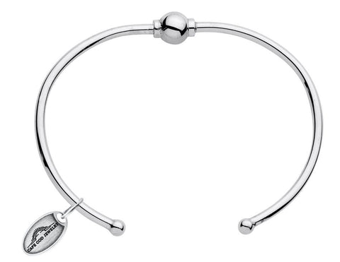 LeStage Cape Cod Sterling Silver Bracelet [Single Ball Cuff]