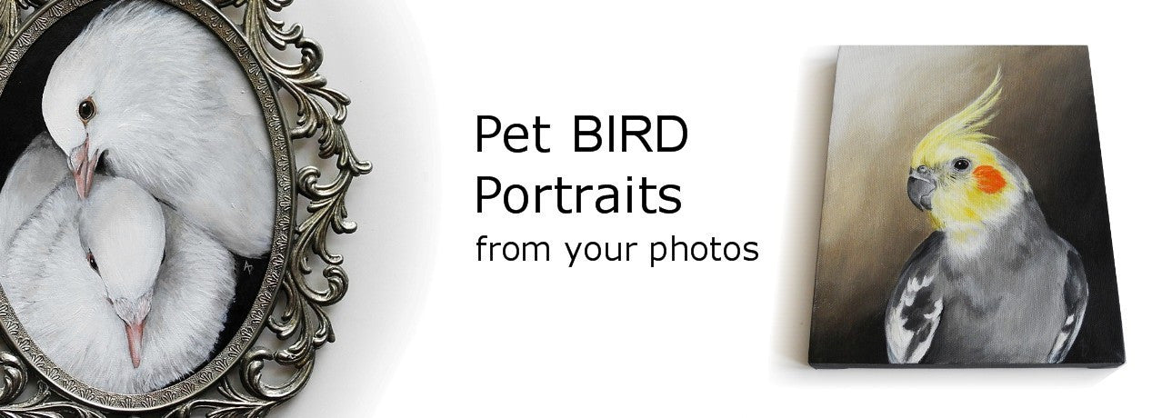 custom pet portrait from photos