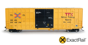Now Available! New HO & N Scale Trinity 6275 Plug Door Boxcars!