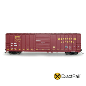 Available Now in HO & N Scale!  Evans 5277 Boxcar