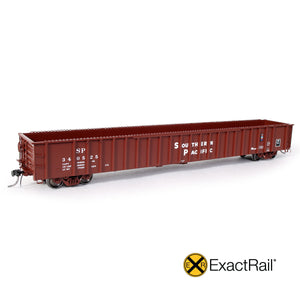 ALL NEW From ExactRail! The HO Scale Southern Pacific G-100-22 Gondola
